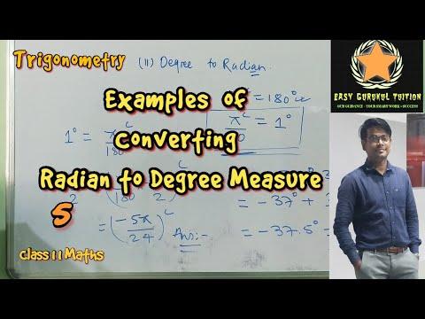 Class 11 Trigonometry Example