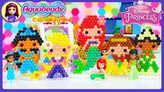 Aquabeads Disney Princess want to go to the Ball Craft DIY Craft Silly Play - Kids Toys