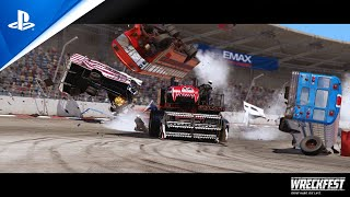 PlayStation Wreckfest - Tournament Update August 2020 | PS4 anuncio