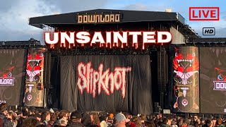 Slipknot   Unsainted   Live At Download Festival 2019   HD 1080p