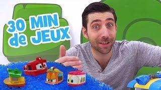 Compilation 30 min de vidéos pour enfants. Romain et les jouets