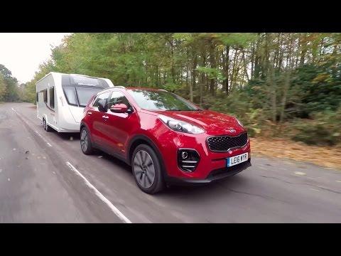 Kia Sportage review  Kia tow cars  Practical Caravan