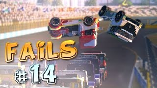 Racing Games FAILS Compilation #14