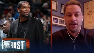 Kevin Durant has nothing to lose by returning to play — Chris Broussard | NBA | FIRST THINGS FIRST