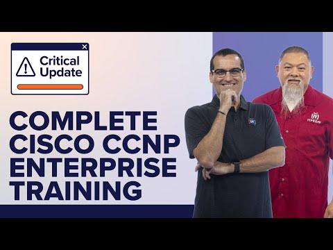 Complete Cisco CCNP Enterprise certification training with ITProTV ...