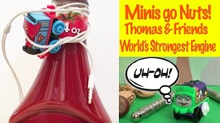 Thomas & Friends Minis Go Nuts!  - World's Strongest Engine Toy Train Fun