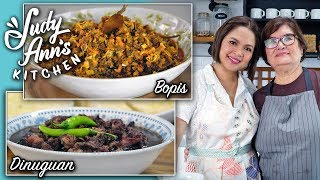 [Judy Ann's Kitchen 13] Ep 3 : Dinuguan and Bopis | Heritage Recipes