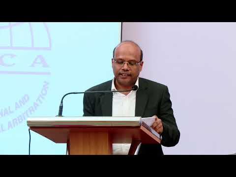 Mr.P.H. Arvind Pandian on the Development of Institutional Arbitration