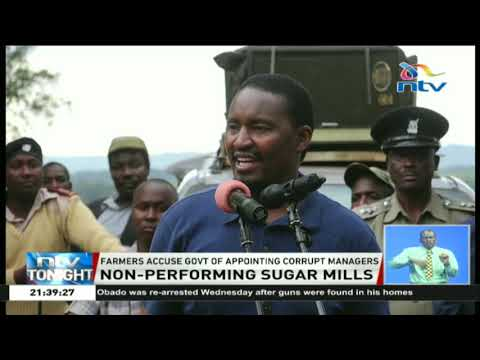 CS Kiunjuri gives state-owned sugar mills six months to shape up