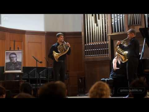 Розетти - Концерт для двух валторн с оркестром, часть I