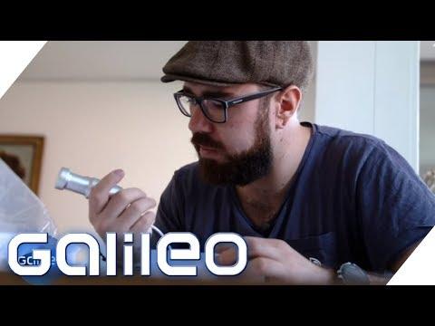 Im Test: Ultraschall-Gerät als Allesreiniger | Galileo | ProSieben