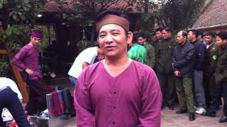 Hài tết 2013 Kỳ Phùng Địch Thủ - NSUT Quang Tèo thay mặt NCV STUDIO Chúc khán giả
