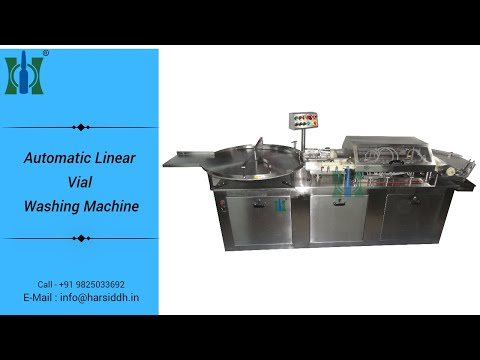 Vial Washing Machines