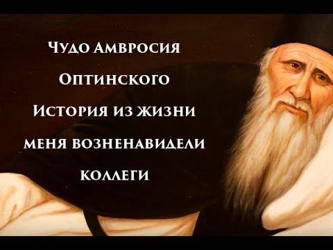 Чудо Амвросия Оптинского - История из жизни, меня возненавидели коллеги