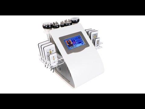 Комбайн 6 в 1 (кавитация, RF, вакуум, лазерный липолиз) GBT AU-61B