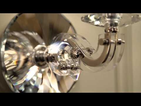 Video for Lapeer Aged Brass Two-Light Wall Sconce