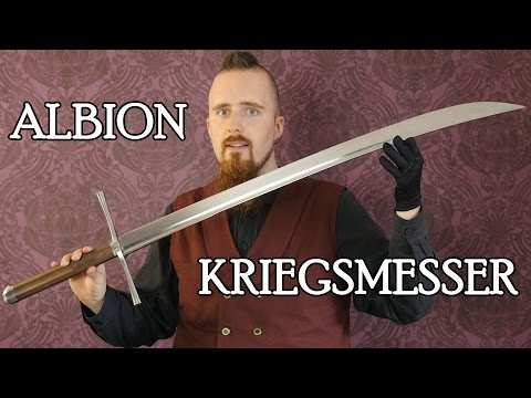 Review: The Knecht kriegsmesser by Albion - Amazing sword!