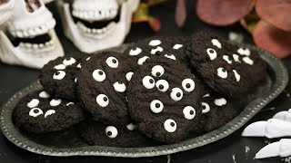 Spooky Eyeball Cookies | Easy + Delicious Halloween Recipe by The Domestic Geek