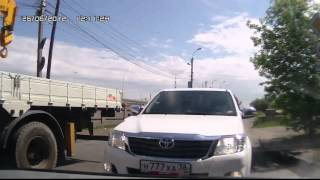 Хамы на дорогах Иркутска, не ожидал отпора!!!