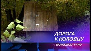 Жители деревни Боровно Окуловского района встали стеной за дорогу к колодцу