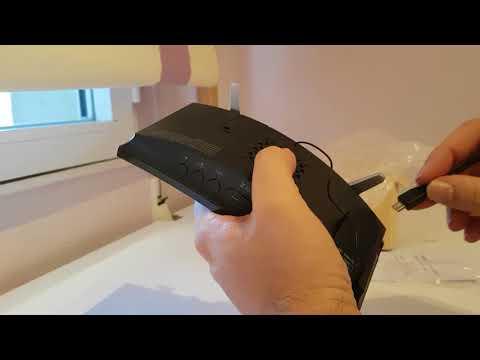 Unboxing Radio despertador con proyector de hora y cargador de móvil