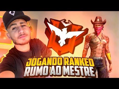 🔴FREE FIRE AO VIVO🔴SOLO RANKED RUMO AO TOP 100 EM VITÓRIAS!🔴
