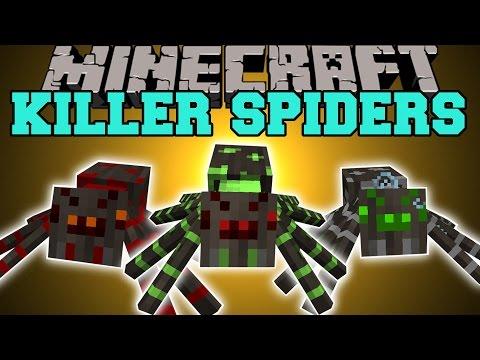 minecraft spider mods