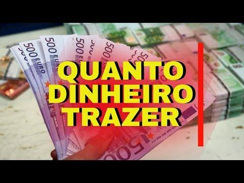QUANTOS EUROS LEVAR PARA MORAR EM PORTUGAL *ATUALIZADO* EP. 41 Desafio 365 Dias