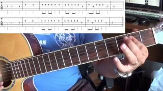 Gitar Dersi - Duman - Yürek ( Solo )
