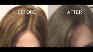 HOW TO TONE BRASSY DARK HAIR