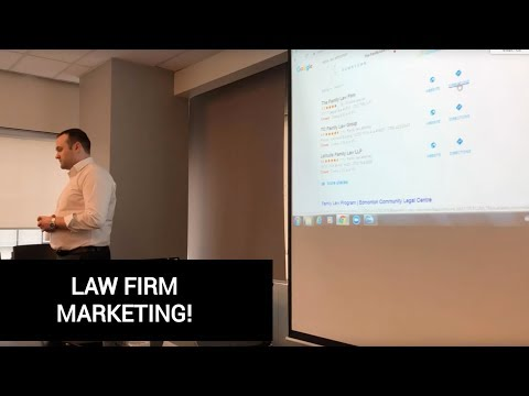 Law Firm Marketing Part 3 of 7