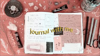 Journal with me ☾ (a look into my spiritual journal) // Pastel Julia