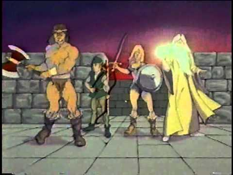 Atari arcade game commercial - Gauntlet