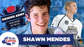 Shawn Mendes Trash-talks Justin Bieber's Hockey Skills 🏒  Full Interview