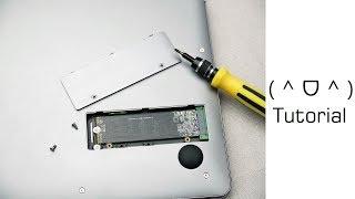 Tutorial: Günstige M.2 SSD in günstiges China Notebook einbauen - Moschuss.de