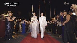 Aram + Marianna's Wedding in Ritz Celebration and First Congrigational Church