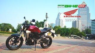 รีวิว Honda CB300R ใหม่ เท่ดุจงานคราฟต์ พร้อมสมรรถนะสุดเร้าใจ