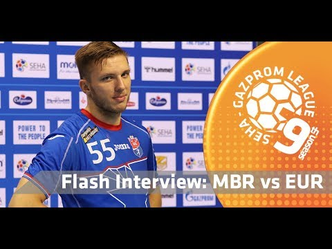 Flash interview: Meshkov Brest vs Eurofarm Rabotnik
