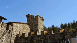 Building a Medieval  Castle in Napa California, Castello di Amorosa