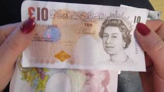 BRITISH POUND EXPLAINED ENGLISH England MONEY Geld Penny Grand Akubra Brompton Girl