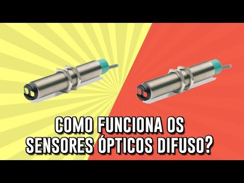 Como funciona os sensores ópticos difuso?