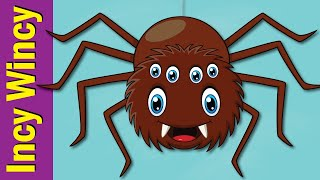 The Incy Wincy Spider with Actions | Nursery Rhymes with Movement | Fun Kids English