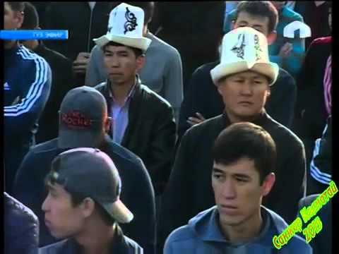 Бишкек   Айт намаз  Түз эфир   24 09 15   КТРК