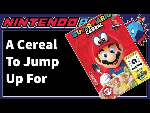 Super Mario Cereal is Heading to a Local Target Near You (Front & Back of Box Revealed!)