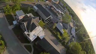 DJI FPV Goggle video hack - LIVE Test Flight