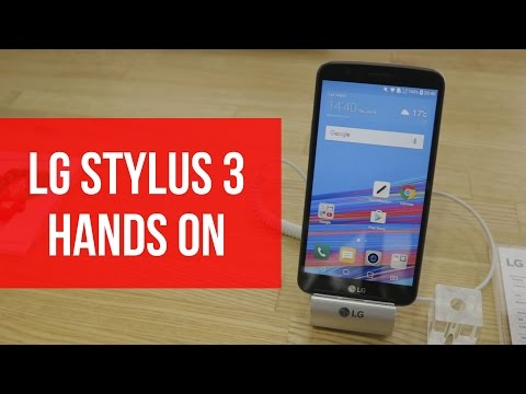 LG Stylus 3 Hands On