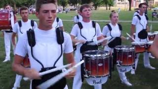 Phantom Regiment - DCI Finals 2016 - Battery Warmup