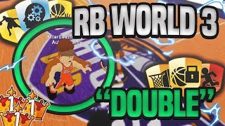 RB WORLD 3 DOUBLE ANKLE BREAKER! (RB WORLD 3 GAME PLAY!)