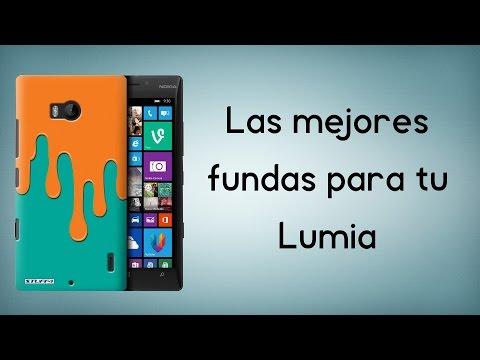 ¡Las mejores fundas para tu Lumia!