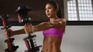 Bowflex® Dumbbell Workout | The Wedding Workout: Tone Your Arms, Chest & Back
